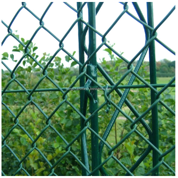 PVC Coated Chain Link Mesh Fencing