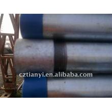 ASTM A53 GR.B tubo roscado galvanizado
