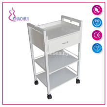 Premium Locking Rolling Trolley Cart med lådan
