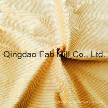 6 Wales 100% Bio-Baumwoll-Cord-Gewebe (QF16-2676)