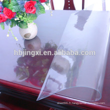 Feuille molle de PVC clair / feuille molle de PVC transparent