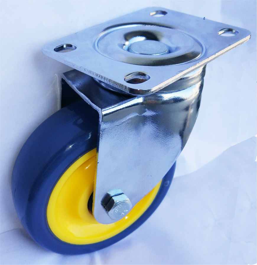 Medium Duty Swivel Pu Caster Wheel