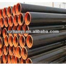 JIS G3454 s355 tubo de aço sem costura