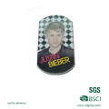 Customized Printed Character Logo Dog Tag with Epoxy
