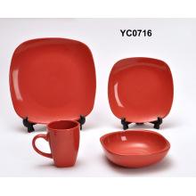 16PCS керамический набор ужин