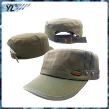 Горячая продажа пользовательских военных армейский кепка с металлическими пуговицами армейский колпачок фабрика оптом