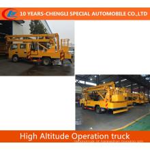 Caminhão da operação da alta altitude do caminhão da operação da plataforma 4X2 alta