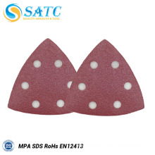 Triangle Sanding Disc with MPA Certificate for Metal Polishing