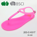 2016 Hot Selling Good Quality Summer Fashion Pvc Sandals