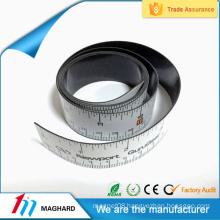 Factory directly customized magnetic ruler holder,custom ruler fridge magnet tape
