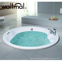 Drop-in Massage Bathtub with Thermostatic Device