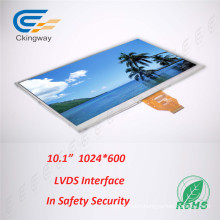 10.1 Inch 1024*600 Sunlight Readable TFT Display