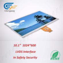 10,1-дюймовый 1024 * 600 Дисплей на солнечных батареях с TFT-дисплеем