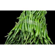 IQF frozen green chilli pepper