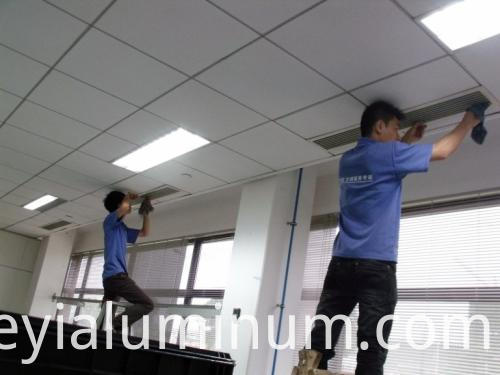 Air Conditioning Tuyere Of Aluminum Profile