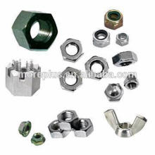 Made in Taiwan stainless Steel slotted nut Copprt Slotted nut Hex Nut