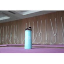 Única garrafa de água de aço inoxidável Ssf-580 dos esportes exteriores da garrafa da parede