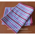 Custom print cotton waffle checked french tea towels