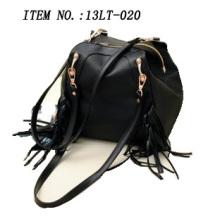 Bolsos del diseñador Bolso de totalizador de la manera de los bolsos del bolso de dos materiales con cordones franjados