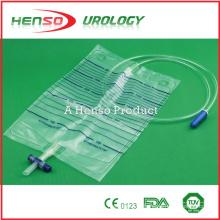 Bolsa de urina de plástico Henso