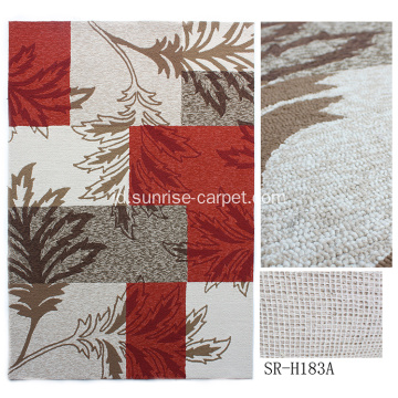 Hand Hooked Carpet With Design