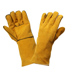 Cut Resistant Safety Leather Working Welding Hand Protective Gloves