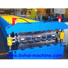 Máquina formadora de rolos de camada dupla