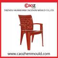 Plastik Sofa Arm Stuhl Form mit drei Rücken Einsatz