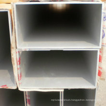 Rectangular Aluminum Pipe 6082 T5 with Size 350mm*350mm*32mm