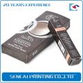 Échantillon gratuit Personnalisé Chipboard Pliable à lèvres brillant / lèvre linercosmetic boîte de papier