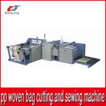 Machines industrielles Machine automatique de coupe et de couture pour plastiques PP Tissé Tissu Roll Bottom
