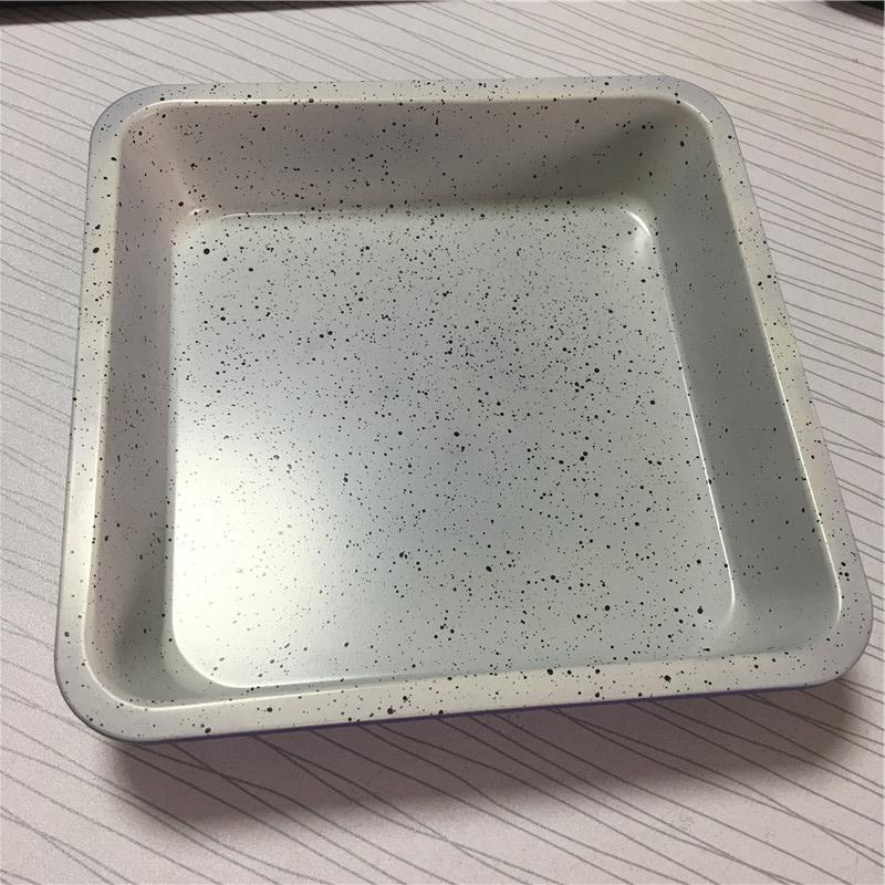 Purple cake pan