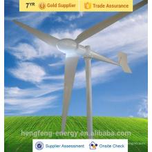 Prix bon marché de Chine et de haute efficacité d'éolienne sur le toit