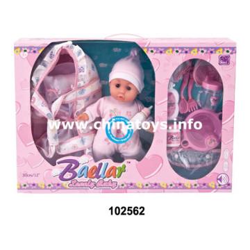 """Jouets de nouveauté Jouets en plastique bon marché pour les jouets en peluche fille 12 """"Doll (102562)"""