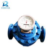 mechanical type dn50 turbine roots water flow meter