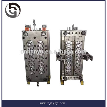 2-72 Cavity injection PET Plastic preform and cap mold P20, #2316 steel, S136/1.5 million shots
