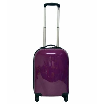 100%PC High Quality Rolling Trolley Set With Aluminium Tube
