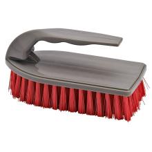 El plástico del buen precio del hogar del diseño de la moda del 14.5 * 6 * 7CM friega el cepillo que se lava con la manija