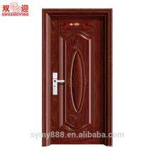 Нигерия Основной Дизайн Двери, Прочные Межкомнатные Двери Стальной Узор Поверхности