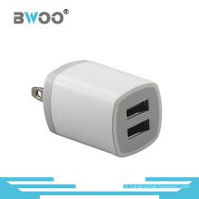 En gros double adaptateur USB Mobile Wall Charger