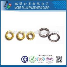 Taiwán Acero inoxidable 18-8 Acero cromado Acero niquelado Cobre Latón DIN7339 Ojal y ojal