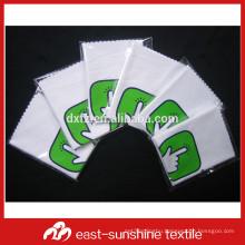 custom personalized microfiber glass polishing cloth