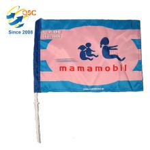 Bandeiras pequenas personalizadas especiais da bandeira / carro