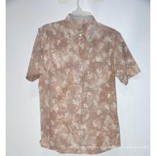 Camisas casuais com design de marca mais recente da fábrica