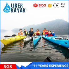 Kayak caliente de la familia D5.5 de Easty para 2-3 persona