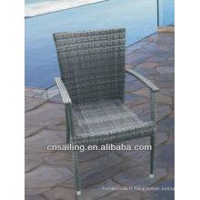 Chaises de jardin à canette étanche aux chaises populaires