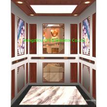 OTSE 1250kg 16 person passenger elevator of wood elevator wall panels