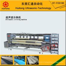 Machine de fente de tissu d'essuyage ultrasonique