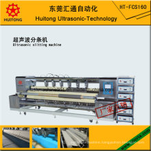 Ultrasonic Wiping Cloth Slitting Machine