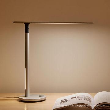 Lampes de matériel de style européen de Matel pour des lampes de table de protection des yeux de chevet à la maison